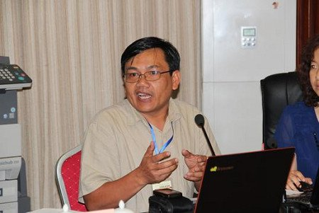 Ratsamy Souvannamethy, Oxfam's Associate Country Director for Laos